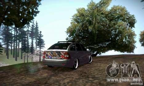 VAZ-2172 JDM para la visión correcta GTA San Andreas