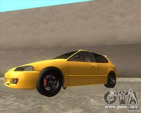 Honda Civic EG6 para GTA San Andreas left
