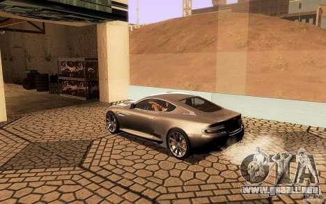 Aston Martin Virage V1.0 para GTA San Andreas interior