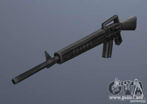 M16 para GTA Vice City segunda pantalla