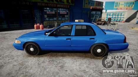 Ford Crown Victoria Detective v4.7 [ELS] para GTA 4 left