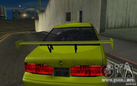 Ford Thunderbird 1993 para GTA San Andreas vista posterior izquierda