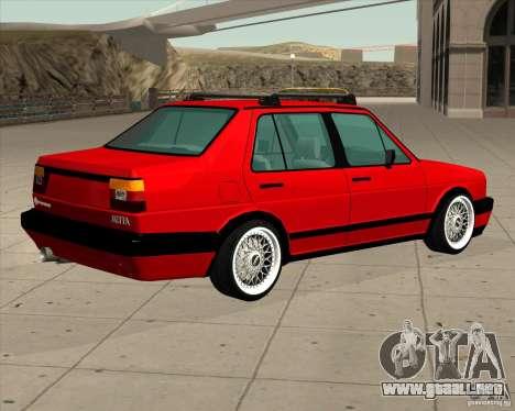 Volkswagen Jetta 1987 Eurostyle para GTA San Andreas left