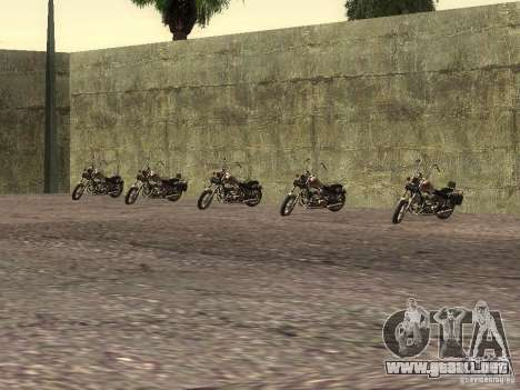 La escuela realista motociclistas v1.0 para GTA San Andreas sucesivamente de pantalla