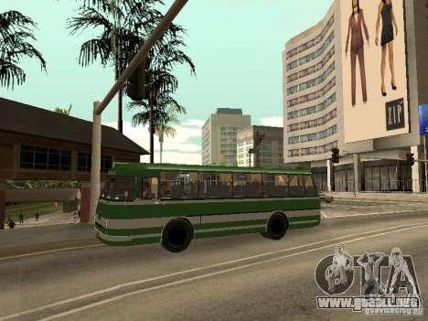 LAZ 624 m para visión interna GTA San Andreas