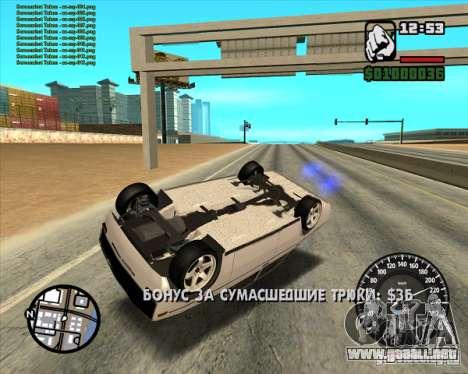 2106 Vaz tuning para la visión correcta GTA San Andreas