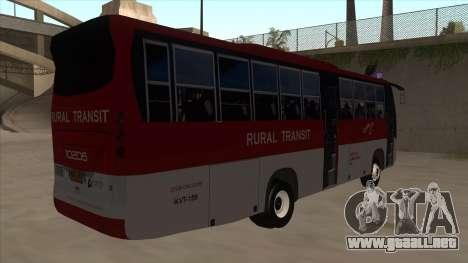 Rural Transit 10206 para la visión correcta GTA San Andreas
