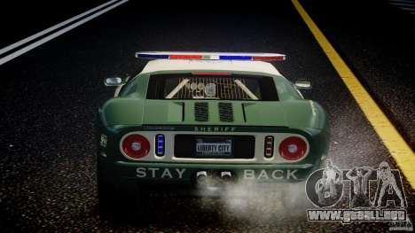 Ford GT1000 Hennessey Police 2006 [EPM][ELS] para GTA motor 4