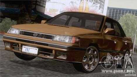 Subaru Legacy RS para GTA San Andreas left