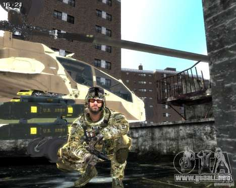 Micro Uzi para GTA 4 sexto de pantalla
