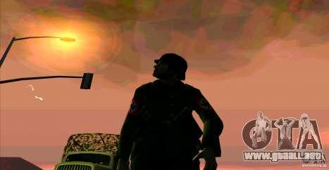 Soldados de la Wehrmacht para GTA San Andreas segunda pantalla