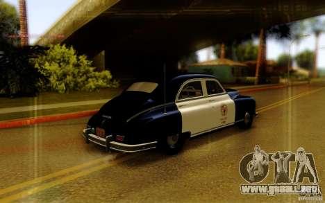 Packard Touring Police para GTA San Andreas left