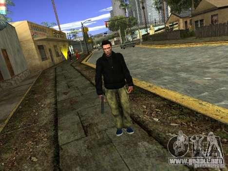 Claude HD Remake (Beta) para GTA San Andreas tercera pantalla