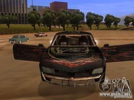 Car from FlatOut 2 para GTA San Andreas left