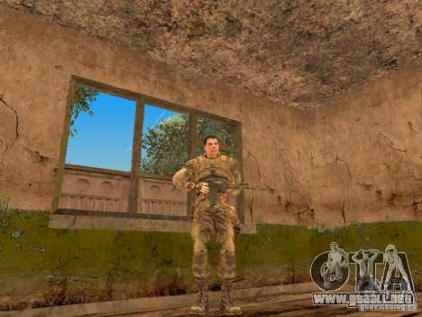 DEGTYAREV de Stalker para GTA San Andreas quinta pantalla