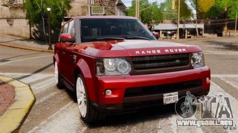 Land Rover Range Rover Sport HSE 2010 para GTA 4