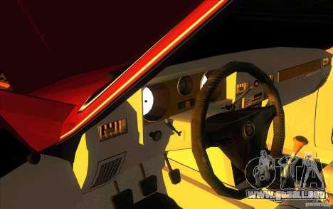 GAZ 3102 Volga Limousine para visión interna GTA San Andreas