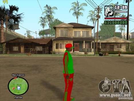 Reemplazo total de la tienda Binco Adidas para GTA San Andreas undécima de pantalla