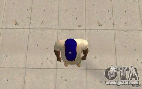 Newyorkyankiys casquillo púrpura para GTA San Andreas tercera pantalla