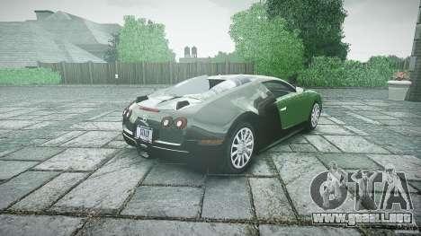 Bugatti Veyron 16.4 para GTA 4 vista lateral