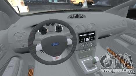 Ford Focus ST para GTA 4 visión correcta