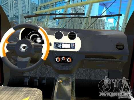 Fiat Novo Uno Sporting para GTA 4 vista interior