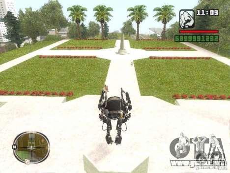 Robot de Portal 2 # 2 para GTA San Andreas segunda pantalla