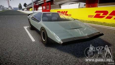 Alfa Romeo Carabo para GTA 4 visión correcta
