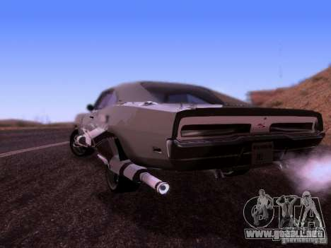 Dodge Charger 1970 Fast Five para GTA San Andreas left