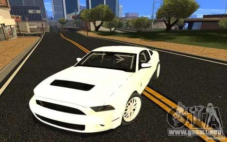 Shelby Mustang 1000 2012 para GTA San Andreas