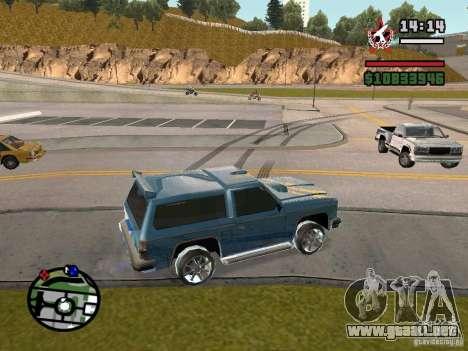 ENBSeries para GForce FX 5200 para GTA San Andreas tercera pantalla