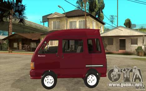 KIA Towner para GTA San Andreas left