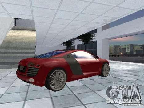 Audi Le Mans Quattro para la visión correcta GTA San Andreas