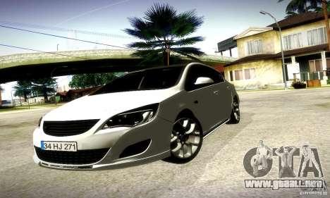 Opel Astra Senner para GTA San Andreas left