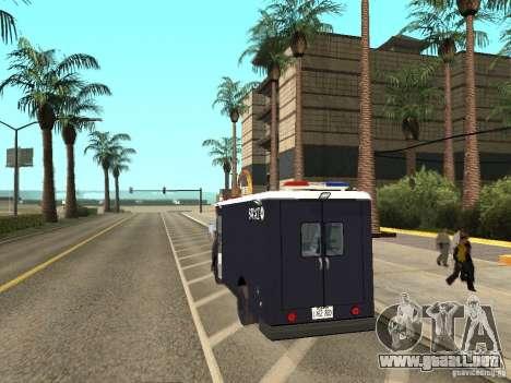 S.W.A.T. Los Angeles para GTA San Andreas left
