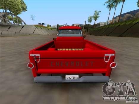 Chevrolet Apache GM 1959 para la visión correcta GTA San Andreas