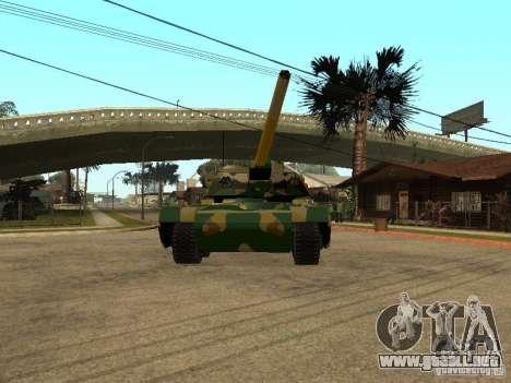 Camuflaje para Rhino para GTA San Andreas left