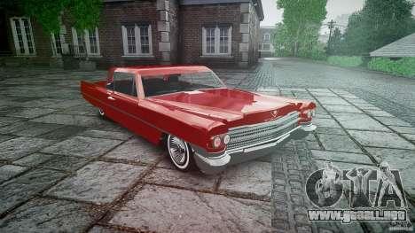 Cadillac De Ville v2 para GTA 4 vista hacia atrás