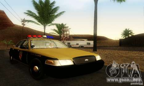 Ford Crown Victoria Maryland Police para GTA San Andreas