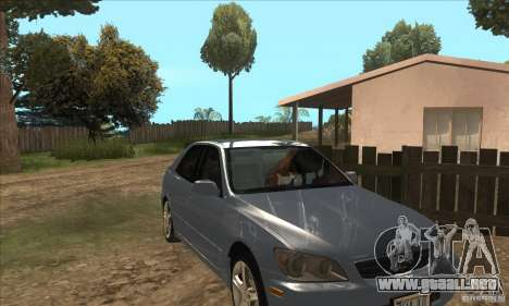 Real ENB Settings v3.0 The End version para GTA San Andreas segunda pantalla