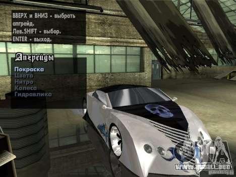 Thunderbold SlapJack para las ruedas de GTA San Andreas