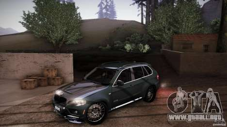 BMW X5 with Wagon BEAM Tuning para las ruedas de GTA San Andreas