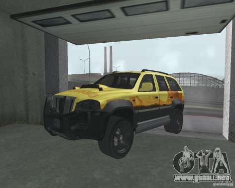 SUV de NFS para GTA San Andreas