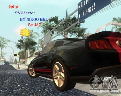 Star ENBSeries by Nikoo Bel SA-MP para GTA San Andreas