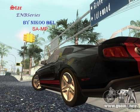 Star ENBSeries by Nikoo Bel SA-MP para GTA San Andreas