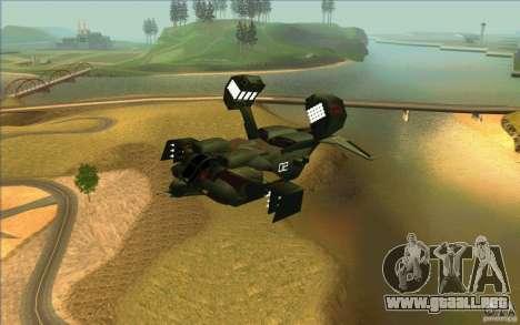 Aliens vs. Predator Marine Drobship para GTA San Andreas