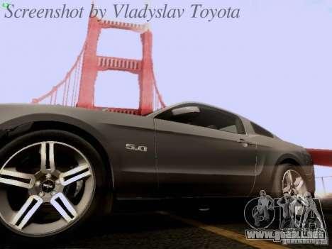 Ford Mustang GT 2011 para el motor de GTA San Andreas