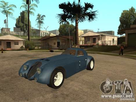 Alfa Romeo 2900B LeMans Speciale 1938 para GTA San Andreas