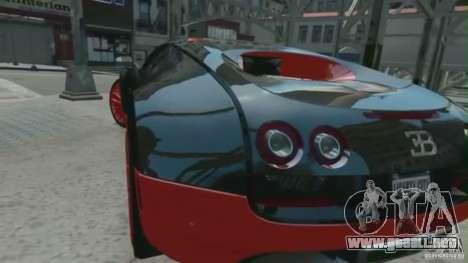 Bugatti Veyron 16.4 Super Sport para GTA 4 left