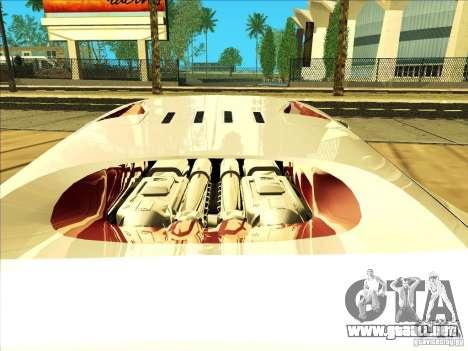 Bugatti Veyron para visión interna GTA San Andreas